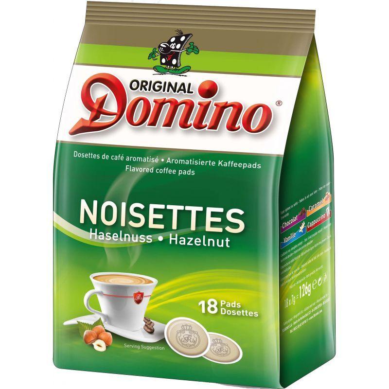 dosette caf aromatis noisette 18 pcs dosette de caf. Black Bedroom Furniture Sets. Home Design Ideas