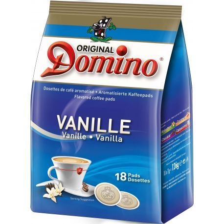 dosette caf aromatis e vanille 18 pcs dosette de caf. Black Bedroom Furniture Sets. Home Design Ideas