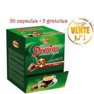 CAPSULE DOMINO CLASSIQUE BOX DE 50 Pcs