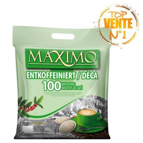 MAXIMO DÉCAFÉINÉ SACHET DE 100 pces