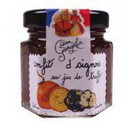 Confit d'oignon au jus de truffe