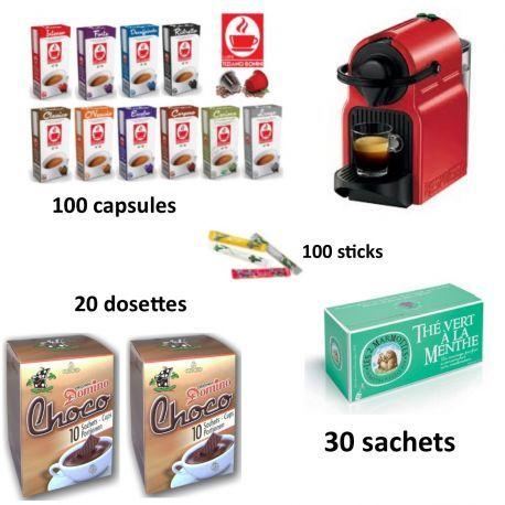 Pack entreprise Nespresso sans cafetière