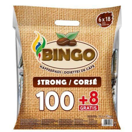 BINGO corsé/strong 100 pcs + 8