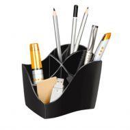 Pot à crayons noir 4 cases