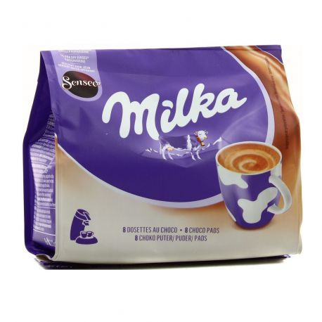 Dosette chocolat MILKA x 8