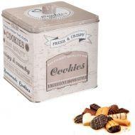 Boite distributrice ganie de 100 biscuits et croustilles MONBANA Sweet Moments