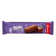 milka brownies -  4 sachets individuels