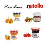 Mix Bonne Maman & Nutella