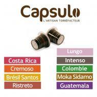 CAPSULO Box mix 40 capsules