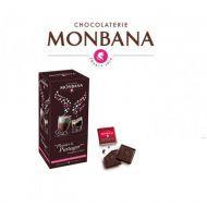 Carrés noir fèves de cacao 8%