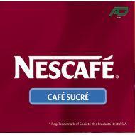 20 Gobelets pré dosés Nescafé noir sucré