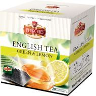 ENGLISH  THÉ Green Lémon 20 pcs